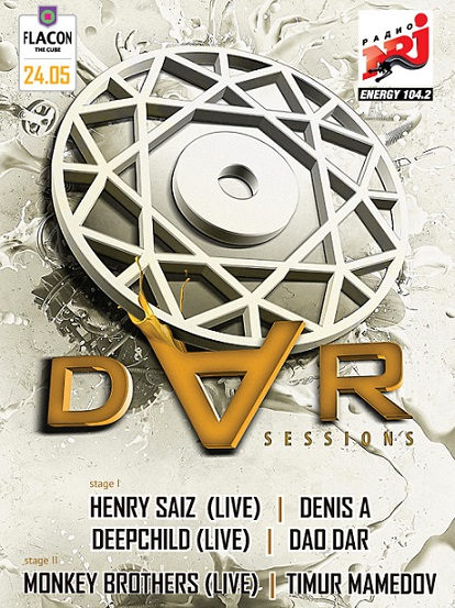 DAR SESSIONS with HENRY SAIZ