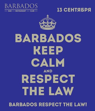 BARBADOS RESPECT THE LAW