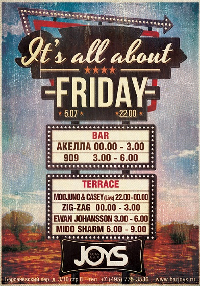 It`s All About Friday