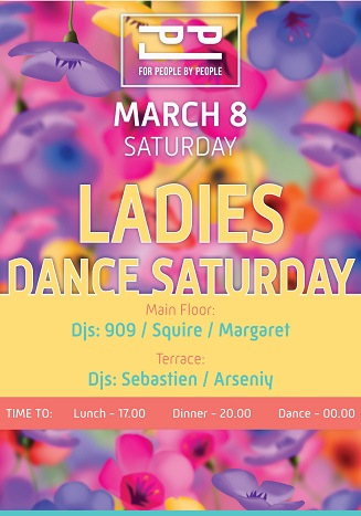 Ladies Dance Saturday!
