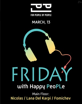Friday with happy PeoPLe!