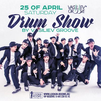 Drum show by Vasiliev Groove