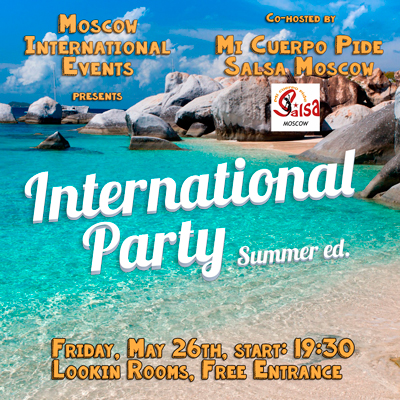 International  party - Summer ed.