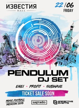 Music.Football 2018: Pendulum
