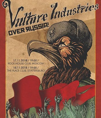 Vulture Industries в клубе Rock House